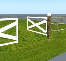 farm fence gate. Log%20ranch%20farm%20fence%20with%20double%20white%20wood%. Log Ranch Farm Fence Gate