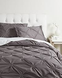 DEAL ALERT: California Design Den Diamond Pintuck Duvet Cover Set ... & California Design Den Diamond Pintuck Duvet Cover Set, King, Charcoal Adamdwight.com