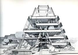 modern architectural drawings. Contemporary Architectural Amazing Architectural  In Modern Architectural Drawings N