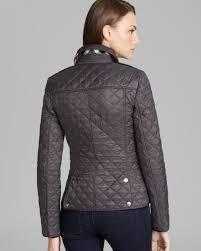 Burberry brit Kencott Quilted Jacket in Gray   Lyst & Gallery Adamdwight.com