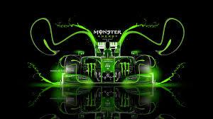 monster energy f1 ferrari fantasy plastic car