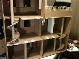 Alani wants to make a cardboard doll house! Lola's Mini Homes: Monster High  Dollhouse