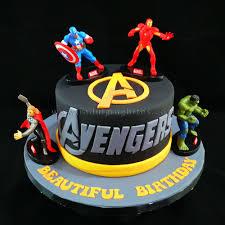 Celebration Cakes The Avengers Birthday Cake Indulgingbites