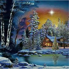 Pełna 5D Diy diament malarstwo pejzaż zimowy 3D diamentowa malowanie  okrągła Rhinestone diamentowa malowanie haft drzewo i śniegu  dekoracje|Diamentowy obraz ścieg krzyżykowy| - AliExpress