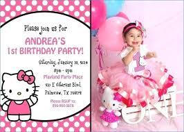 invitation card hello kitty hello kitty birthday party invitations birthday invitation card