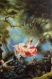 jean honore fragonard reion painting the swing