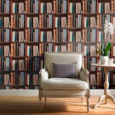 Decoration:Library Wallpaper Looks Like Bookshelves Wallpaper That Looks  Like Bookshelves for Interior Decoration
