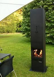 quadrato outdoor fireplace
