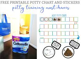 Free Potty Training Reward Chart And Stickers Cottonelle Mega Rolls A Potty Training Must Have Free