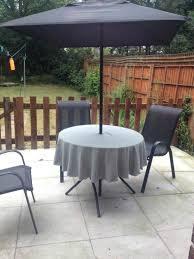 patio tablecloth round patio tablecloth round outdoor tablecloth with umbrella hole canada