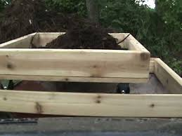 diy home made simple compost screen box