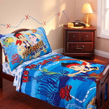 disney jake neverland pirates 3 piece toddler bedding set with bonus matching pillow case com