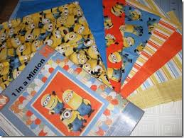 Canuck Quilter: It couldn't be avoided & Minions! I tried to talk myself out of bringing some home, but somehow they  are here. I have the panel too, so I can make the Minion quilt from the  Sept/Oct ... Adamdwight.com
