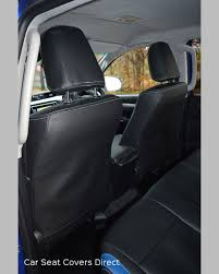 toyota hilux invincible seat covers from behind