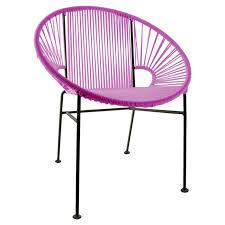 concha indoor outdoor papasan chair