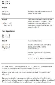 elimination method worksheet homeschooldressage com solving a system of equations involving