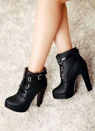 Bke Size Conversion Chart Unique Chunky Heel Winter Lace Up Buckle Martin Boots