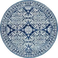 round navy rug stunning transitional navy round rug round navy rug