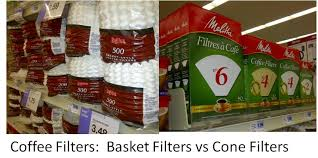 Coffee Filter Types Cone Vs Basket Coffee Filters Coffee