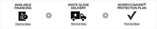 bassett furniture logo. Modren Bassett Available Financing Find Out More White Glove Delivery  Worrynomore With Bassett Furniture Logo