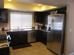 Make Stainless Steel Countertop Kitchen Stainless Steel Countertops Black Cabinets Fence Garage