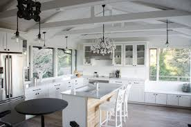 lighting cathedral ceiling. Photo 6 Of 7 Lighting Cathedral Ceilings Ideas #6 White Kitchen With Vaulted Ceiling I