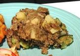 apple zucchini stuffing
