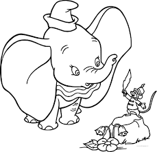 Dumbo Cartoon Coloring Pages Daily Motivational Quotes