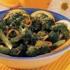 broccoli with orange sauce