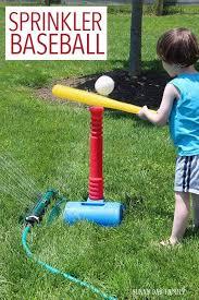 outdoor activities for preschoolers. Sprinkler Baseball Activity For Preschoolers Outdoor Activities