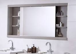 Wall mounted medicine cabinet with mirror Installing Wall Mounted Medicine Cabinets Bathroom Medicine Cabinets With Mirrors Archiexpo Wall Mounted Medicine Cabinets Bathroom Medicine Cabinets With