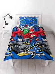 Justice League Inception Single Duvet Cover Set Polyester £12.95 ... & Justice League Inception Single Duvet Cover Set Polyester £12.95 Free UK  Delivery Adamdwight.com