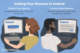 attach resumes how to upload a resume to indeed