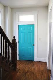 inside front door colors. Painted Doors · The Entryway (progress!)Make Inside Entry As Interesting Front Door Colors