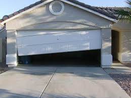 it is not advisable to operate this type of door with inexpert hands or even automatic garage