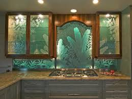 Cabinet With Frosted Glass Doors Kitchen Glass Cabinets Built In Kitchen Hutch With Glass Doors