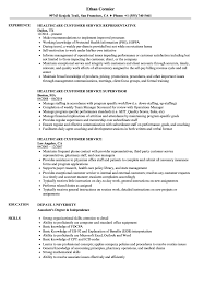 Resume Customer Service Sample Healthcare Customer Service Resume Samples Velvet Jobs 21