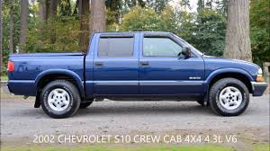2002 CHEVROLET S10 CREW CAB LS V6 4X4 - YouTube