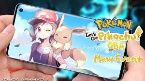 New Pokemon Game Mew Event! Pokemon Let's Go Pikachu GBA - Android IOS  Gameplay Trailer C... | New pokemon game, New pokemon, Pokemon games