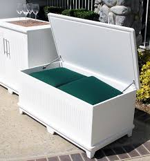 view larger beat the elements with outdoor storage boxes shed diy plans