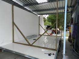 enclosed trailer exterior wall panels