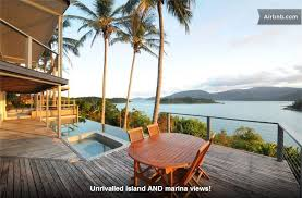 a truly unique spectacular waterfront home overlooking tropical whitsunday islands with an exclusive private infinity pool and heated outside jacuzzi