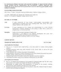 Download Resume Software Experienced Software Engineer Resume Template Developer Download