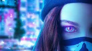 Neon Eyes Girl 4k, HD Artist, 4k ...