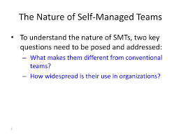 self managed teams ppt self managed team smt powerpoint presentation id 1570536