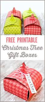 christmas free template christmas tree gift boxes free printable the thinking closet