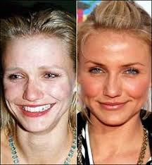 celebrities with without makeup cameron diaz celebs without makeup makeup before and