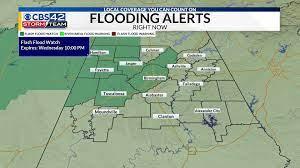 Central AL Forecast: More rain Thursday ...
