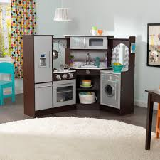 Play Kitchen Ultimate Corner Play Kitchen Set With Lights Sounds