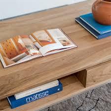 gingko soho coffee table light walnut